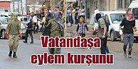 PKK, eyleme katılmayan vatandaşı vurdu