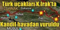 PKK, Kandil'de vuruldu: Zap, Metina Avaşin'e bomba yağdı