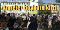 PKK, korkutmak için okulları bombaladı ama anneler yılmadı