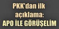 PKK Silah bırakacak mı? PKKdan ilk açıklama