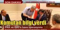 PKK VE IŞİD Operasyonları zirveden takip edildi