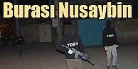 PKK'lı teröristler Nusaybin'de devriyeye çıktı