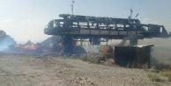 Teröristler Sarıkamış Kayak Merkezi'ni ateşe verdi