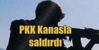 PKK'lı teröristler Şırnak'ta Kanas'la saldırdı