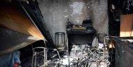 PKK'lılar, kendi okudukları okul binasını ateşe verdi