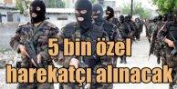 Polis Akademisine 5 bin özel harekatçı polis adayı alacak