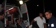 Adana'da polise saldıran PKK'lı gösterici bacağından vuruldu