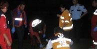Porsuk Çayına düşen genç sağlık ekiplerinin çabasına rağmen kurtarılamadı