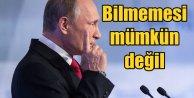 Putin: Türkiye'nin Rus uçağı olduğunu bilmemesi mümkün değil