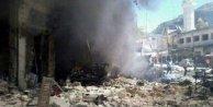 Rejim uçakları pazar yerini bombaladı: 30 ölü, çok sayıda yaralı