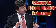Rıdvan Dilmen; Galatasaray'da teknik adam kalmamış