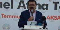 Rifat Hisarcıklıoğlu: Kızılırmakı Aksaraya getirmeliyiz