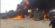 Rus uçakları yardım TIRlarını vurdu: 3 ölü