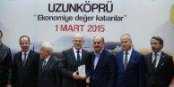 Sağlık Bakanı Müezzinoğlunun önünde kendini yakmak istedi (3)