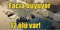 Sahte içki faciasında ölü sayısı yükseliyor; 12 kişi öldü