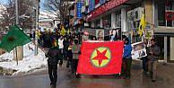 Sakine Cansız Anmasında PKK flaması taşıyan iki kişi tutuklandı