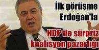 Sarayda HDPli koalisyon pazarlığı