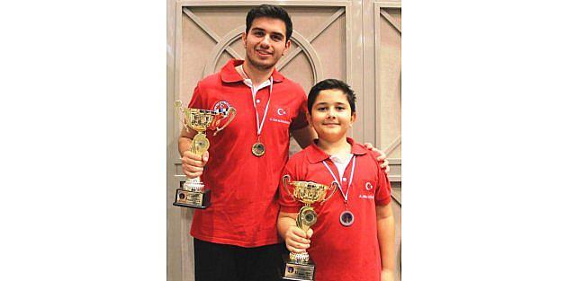 Satrançta 1 Altın, 1 Gümüş Madalya Kazandık