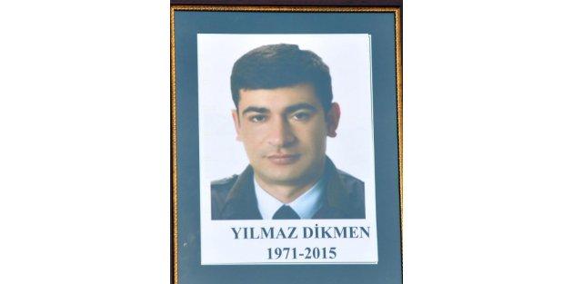 Şehit polis Yılmaz Dikmen, Kırıkkalede son yolculuğuna uğurlandı
