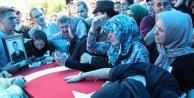 Şehit Uzman Çavuş Sarpkaya, askeri törenle uğurlandı (3)