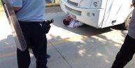 Servis araçlarını engelleyen 10 işçi gözaltına alındı