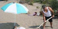 Şifa için kuma gömülüyorlar