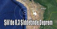 Şilide 8,3 Şiddetinde Deprem