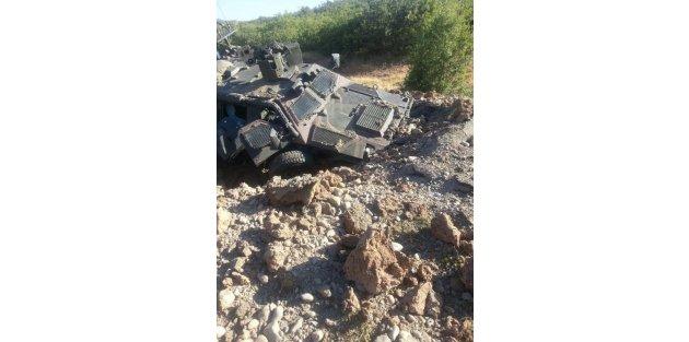 Silvan barajına roketatarlı, Bingölde askeri araçlara mayınlı saldırı yapıldı
