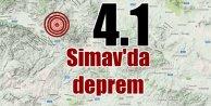Simav'da deprem: Simav 4.1 ile sallandı
