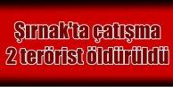 Şırnak'ta çatışma: 2 terörist etkisiz hale getirildi