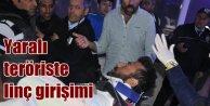 Sivasta yaralı terörist gerginliği: 3 kez linç edilmek istendi