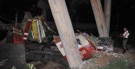 Sivasta yük trenleri çarpıştı: 1 Ölü, 1 yaralı (Ek Fotoğraf)