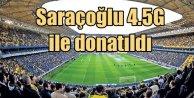 Şükrü Saracoğlu stadı, Türkiyeden önce 4.5Gye geçti