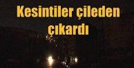 Sultangazi'de elektrik kesintisi vatandaşı çileden çıkardı