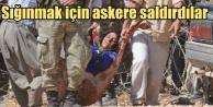 Suriyeli sığınmacılar, sınırı aşmak...