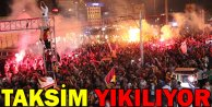 Taksim Bayram Yeri Gibi