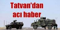 Tatvan'da Asker taşıyan araç kaza yaptı; 1 şehit 4 yaralı var