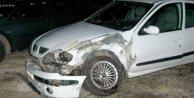 Malkara'da iki otomobil koç gibi çarpıştı: 9 yaralı