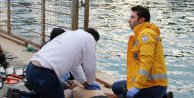 Teknesi alabora olan balıkçı öldü
