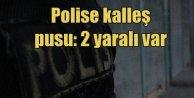 Teröristler Siverekte polis aracına pusu kurdu