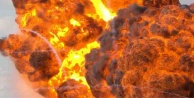 THY ofisi önünde patlama