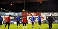 Trabzonspor Mersin İdman Yurdu maçı hazırlıklarını sürdürdü