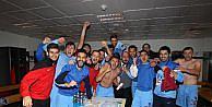Trabzonspor Soyunma Odasında Böyle Sevindi