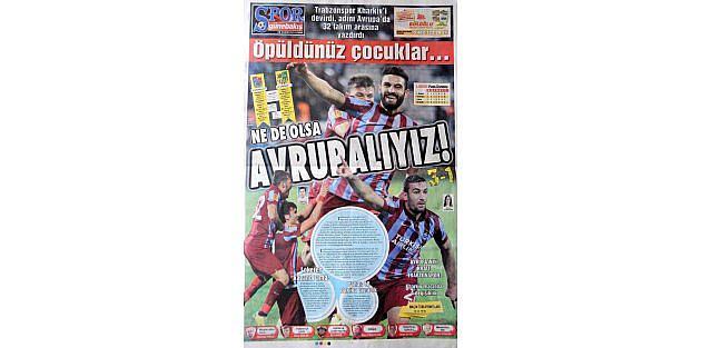 Trabzonsporlu Belkalem Gözünü Finale Dikti
