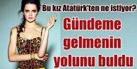 Tuğçe Kazaz: Atatürk bile AK Parti için oy isterdi