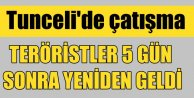 Tunceli: PKK Jandarma Komutanlığı'na saldırdı, 1 şehit var