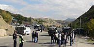 Tuncelide pkk Mezarlığı Gerginliği; Kente Giriş- Çikiş Yasaklandı - Fotoğralar