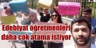 Türk Dili ve Edebiyatı Öğretmenleri daha çok atama istiyor