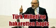 Türk Milletine hakaretten Sırrı Sakıka hapis cezası