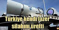 Türk ordusuna 'Milli Lazer' Silahı